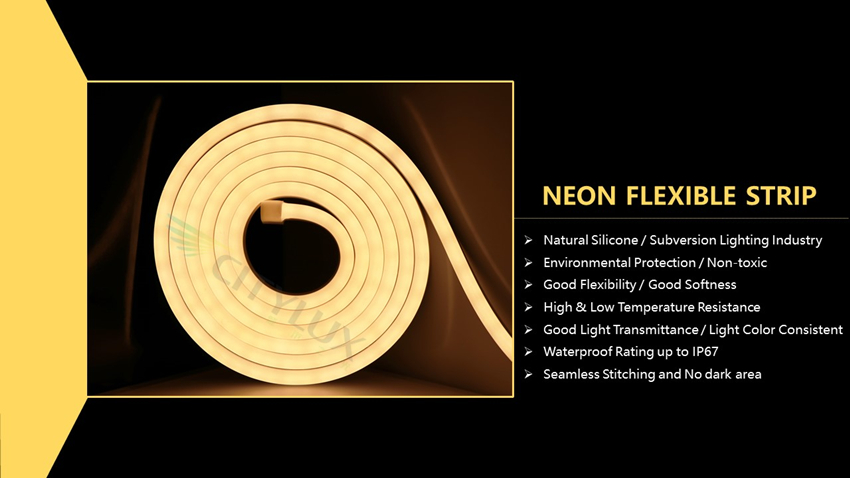 Good Flexibility Good Softness Neon Strip