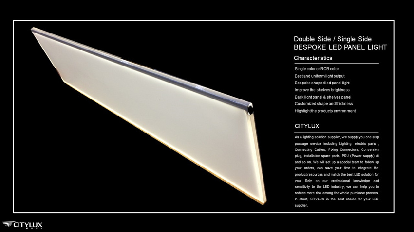 Bespoke led panel light